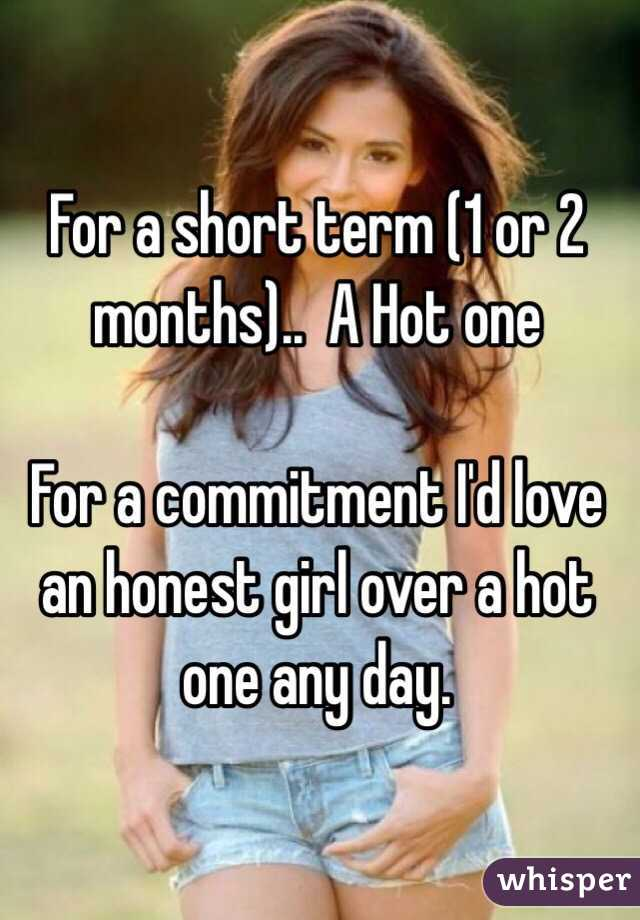 Dating 2 months no commitment