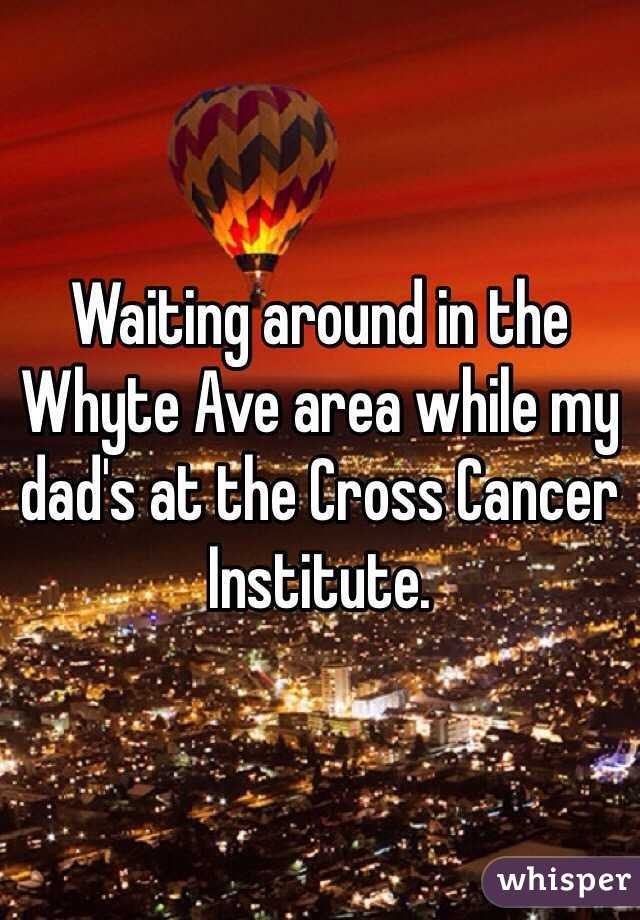 Waiting around in the Whyte Ave area while my dad's at the Cross Cancer Institute.