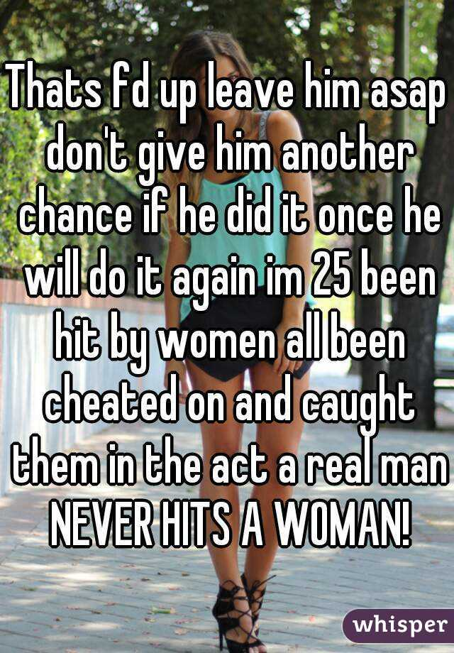 If A Man Cheats Once Will He Cheat Again
