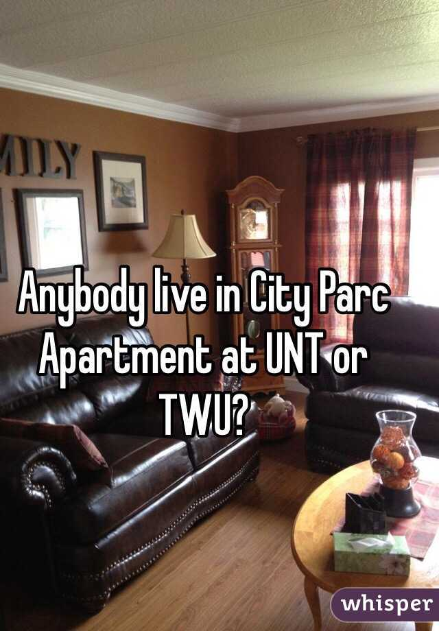 Anybody live in City Parc Apartment at UNT or TWU?
