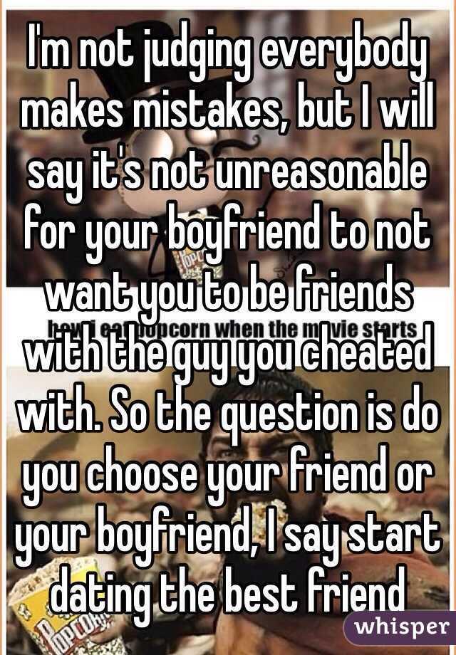 Start dating a friend