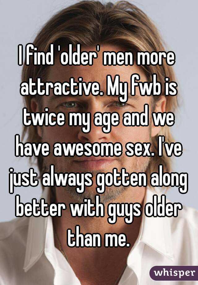 Find older men