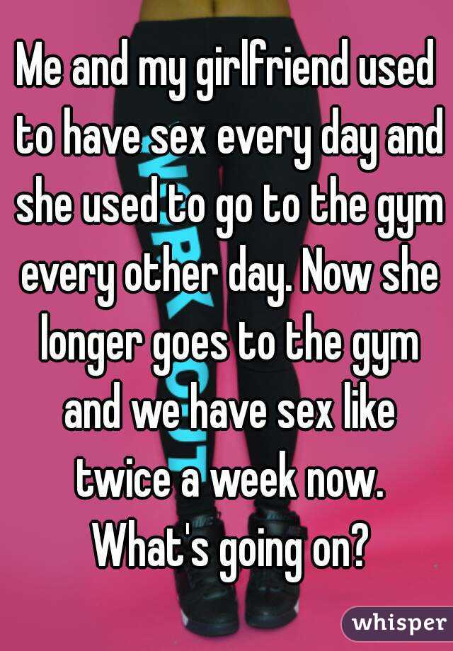 Sex every day or every other day