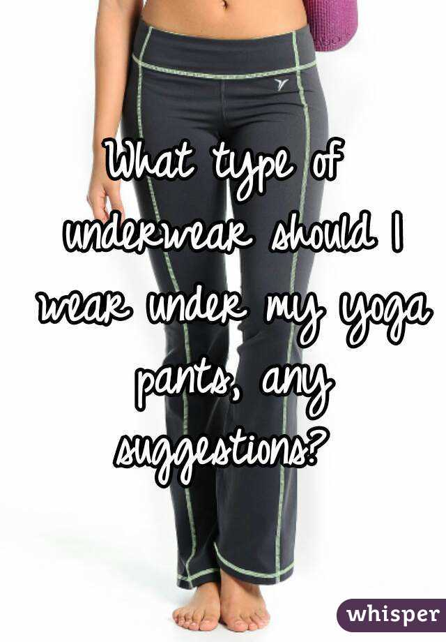 Do girls wear underwear with tight pants?