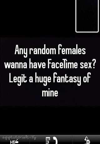 Facetime sex line