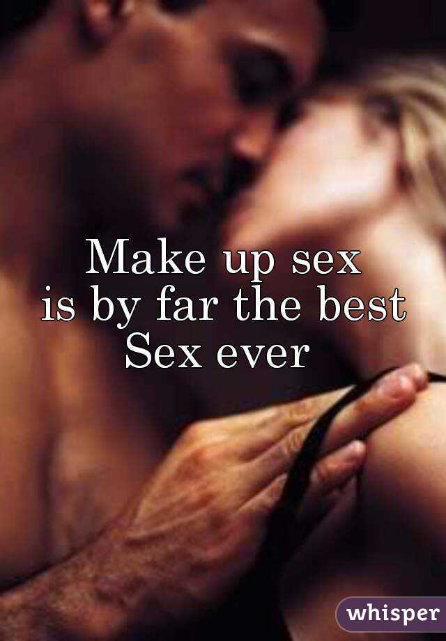 Whats make up sex