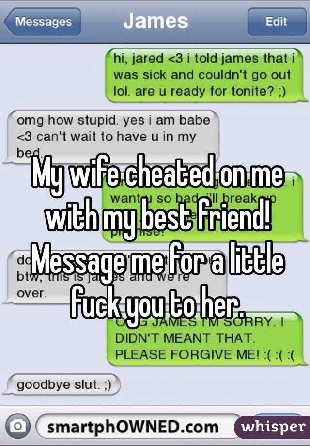 Freind will fuck my wife i cant get