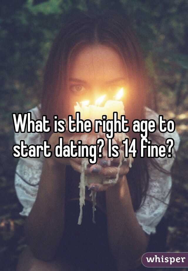 Best age to start dating christian