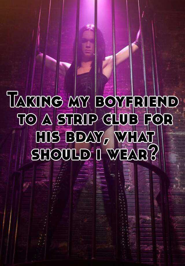 how to strip for boyfriend