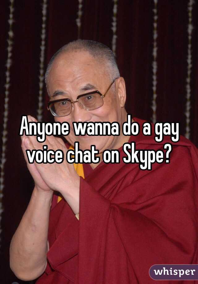 Gay voice chat