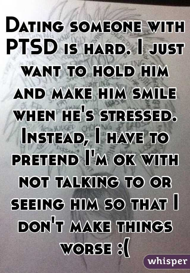Dating someone with ptsd military