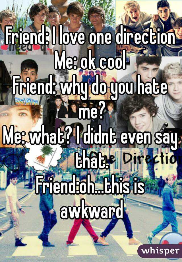 why i love one direction