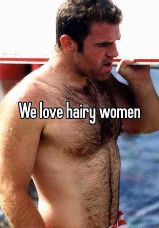 Large hairy women