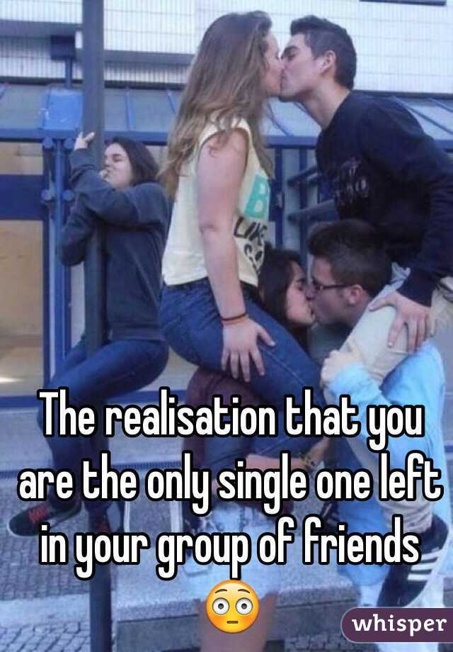How to deal with being the only single friend