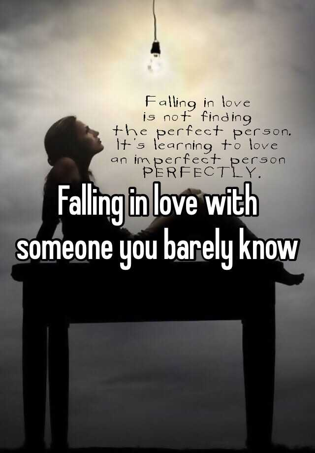 How To Stop Falling In Love With Everyone
