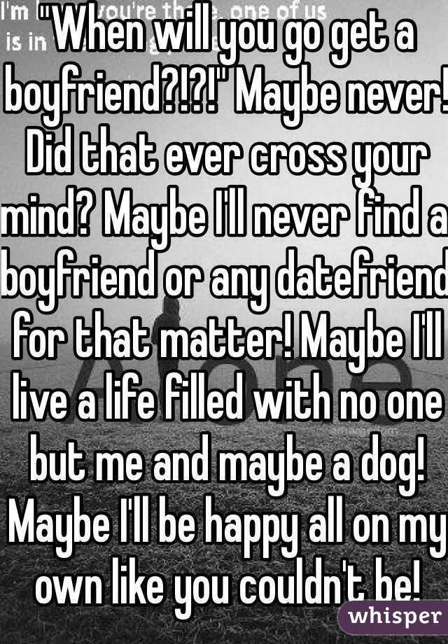 Datefriend