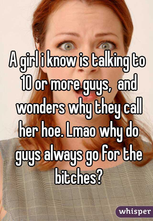 why do guys fall in love with hoes