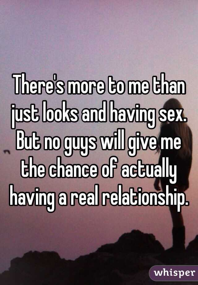 Just have sex with me