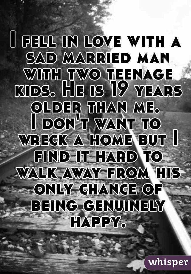 fell for a married man