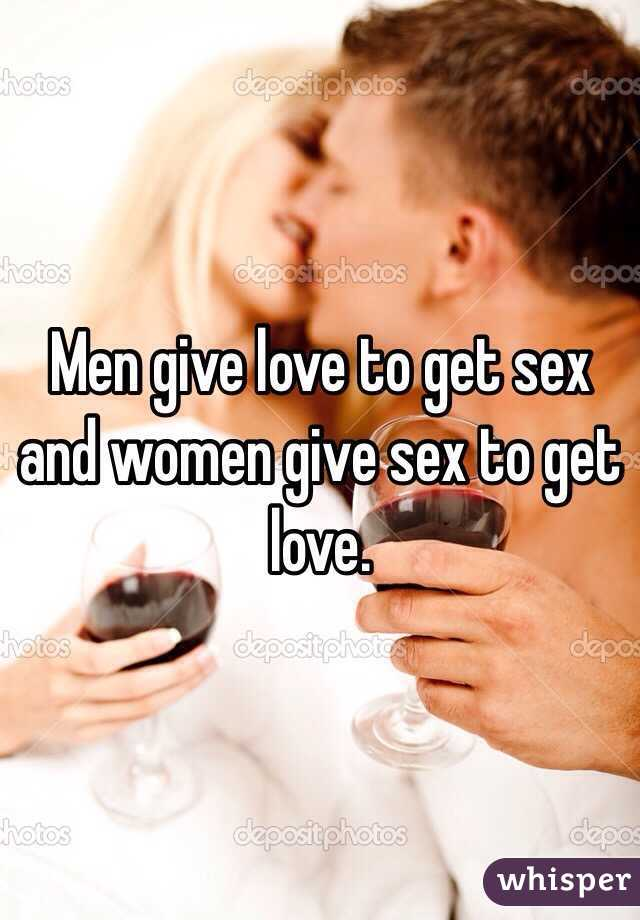 Women give up on sex