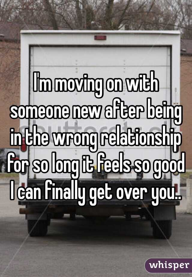 After Long A On Relationship Moving