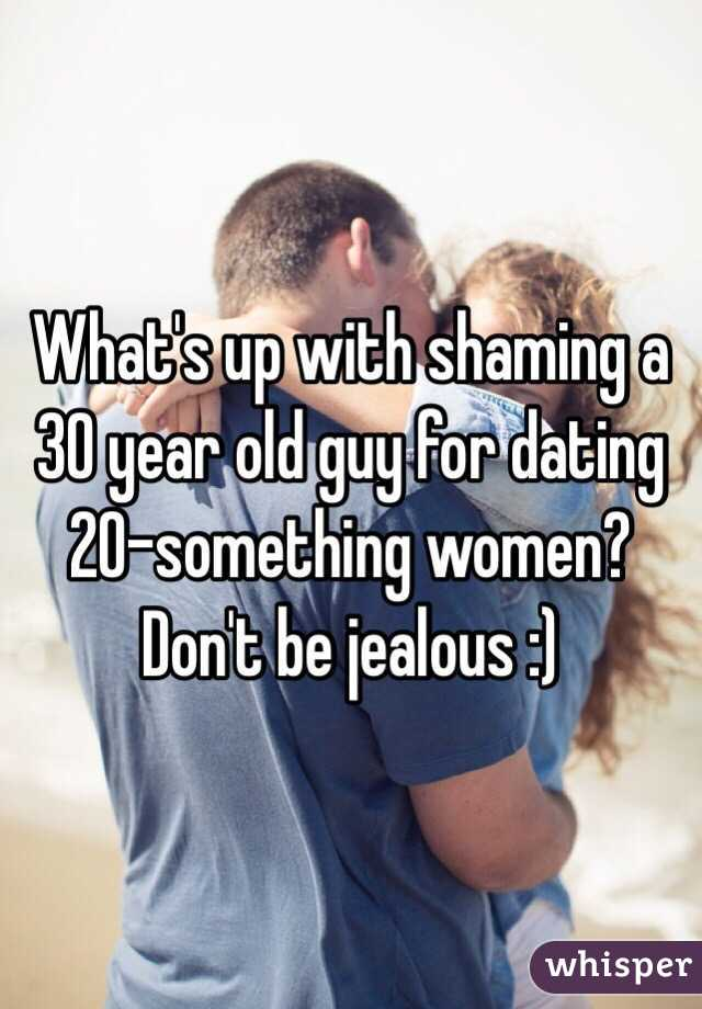 Dating a 20 year old at 30
