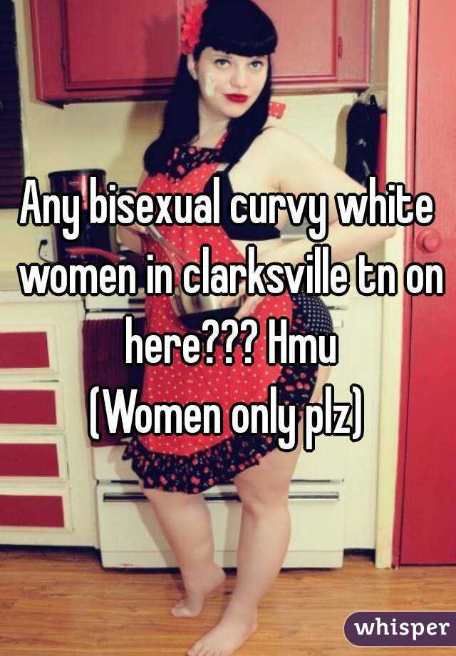 White bisexual women