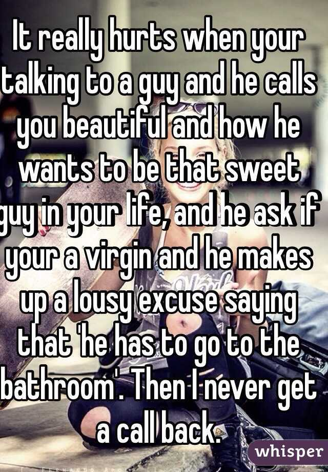 how to be a sweet guy