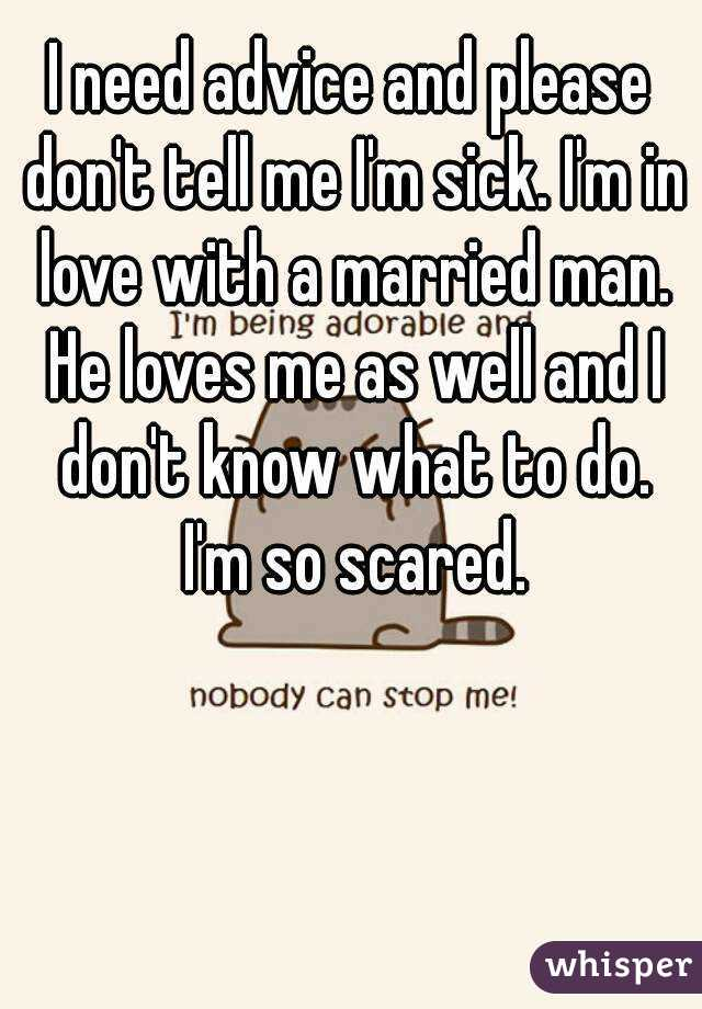 In love with married man advice