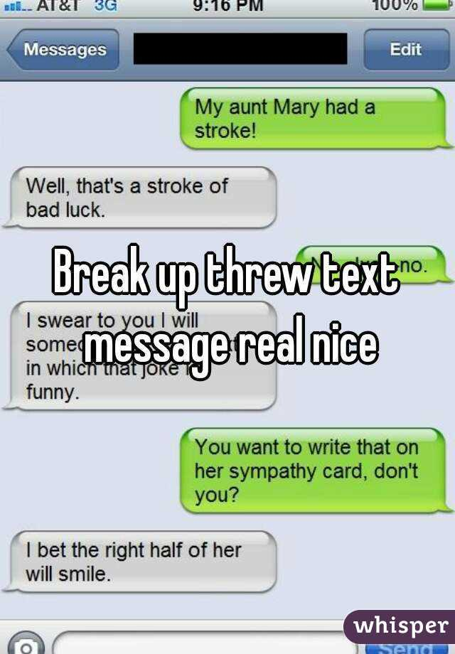 nice text for her