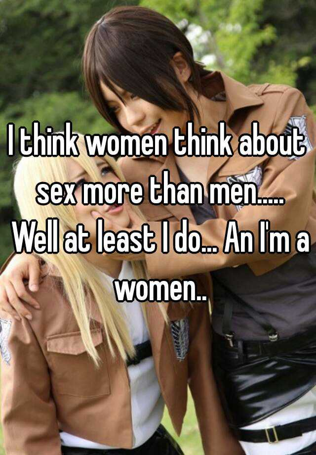 I want sex with more women