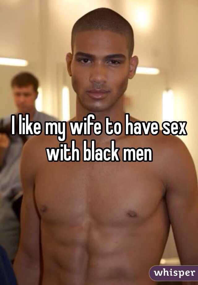 Black men like sex how