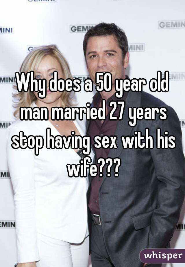 50 year old men and sex