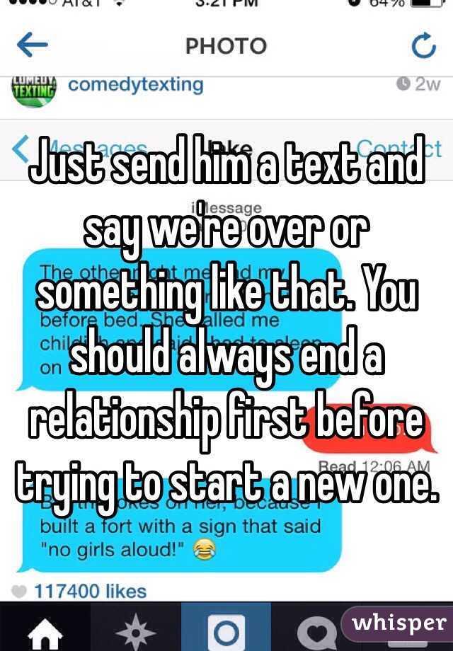 should we start a relationship