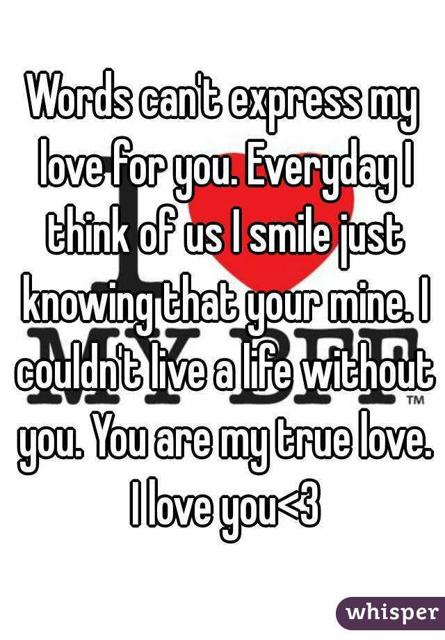 you you you are my true love you