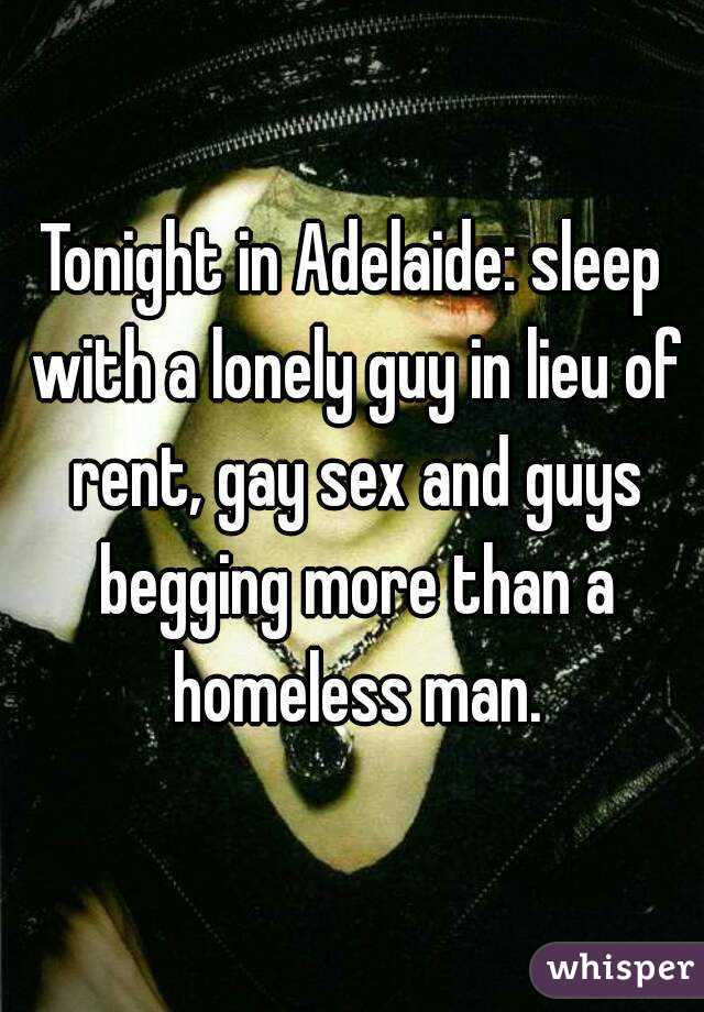 Gay sex adelaide