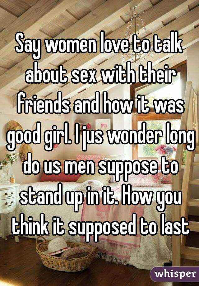 Girls that love to talk about sex