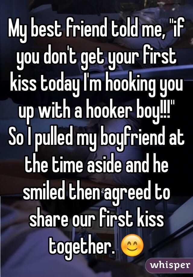 How to get my first kiss