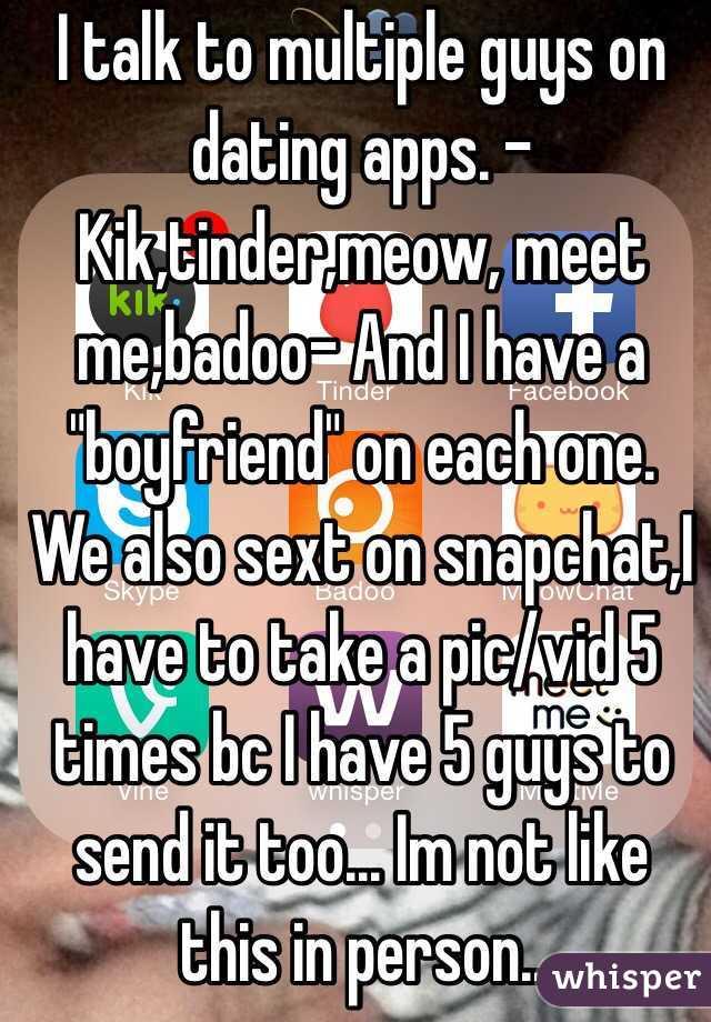 Meet guys on kik