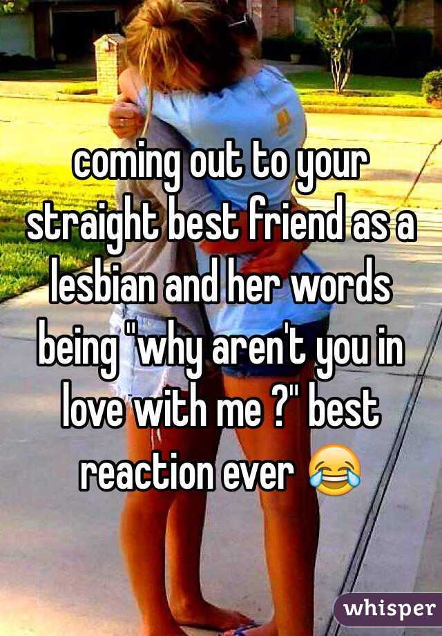 Lesbian in love with straight friend