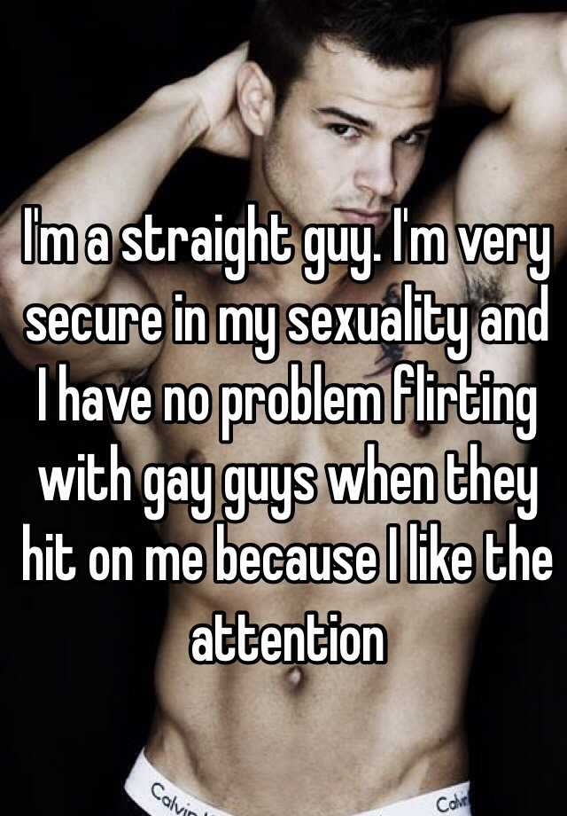 Flirting with a gay guy