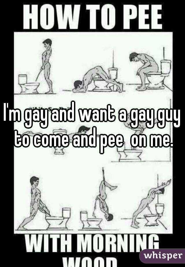 Gay pee