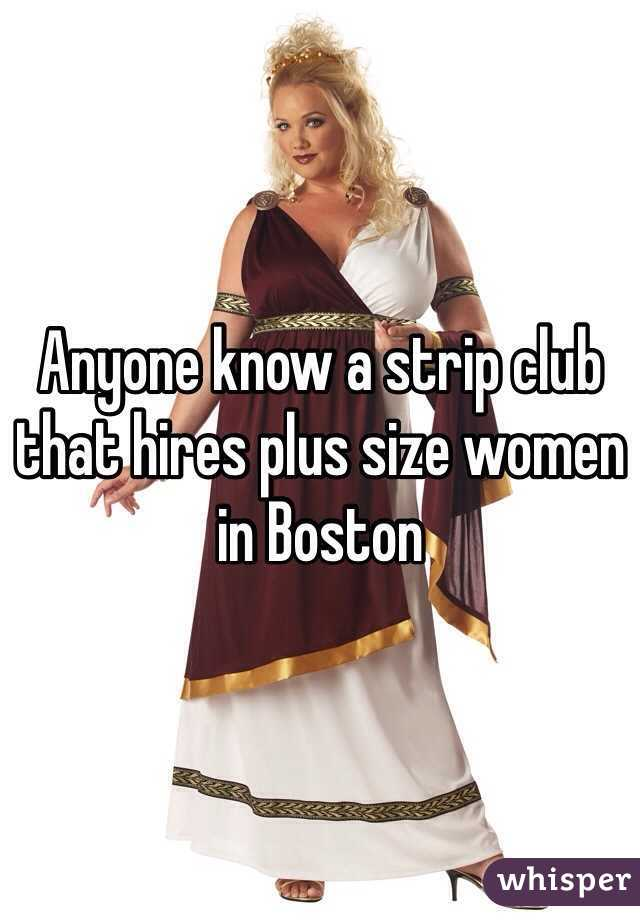 Plus size stripper jobs