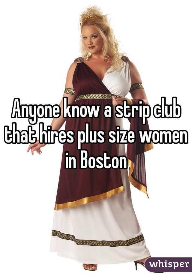 Plus size stripper jobs