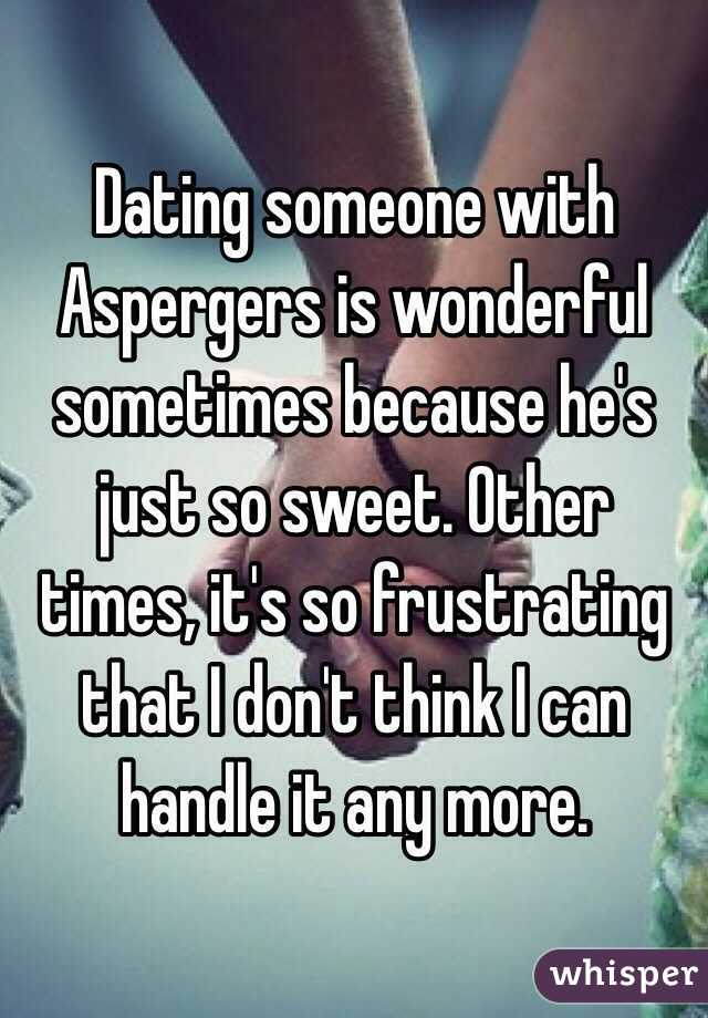 dating someone with aspergers yahoo