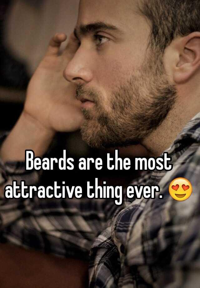 most attractive beard