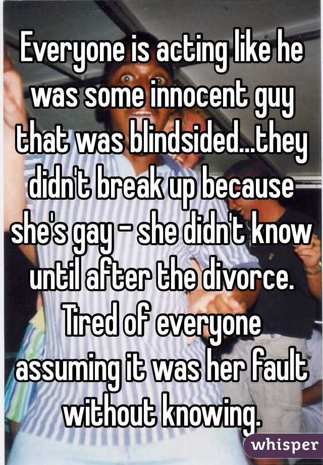 Everyone is acting like he was some innocent guy that was blindsided