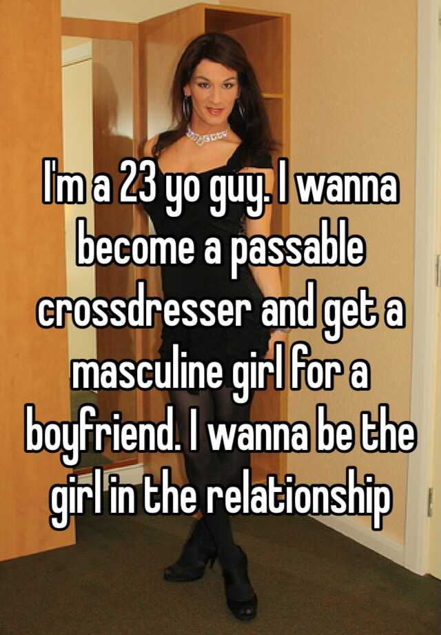 Crossdresser relationship