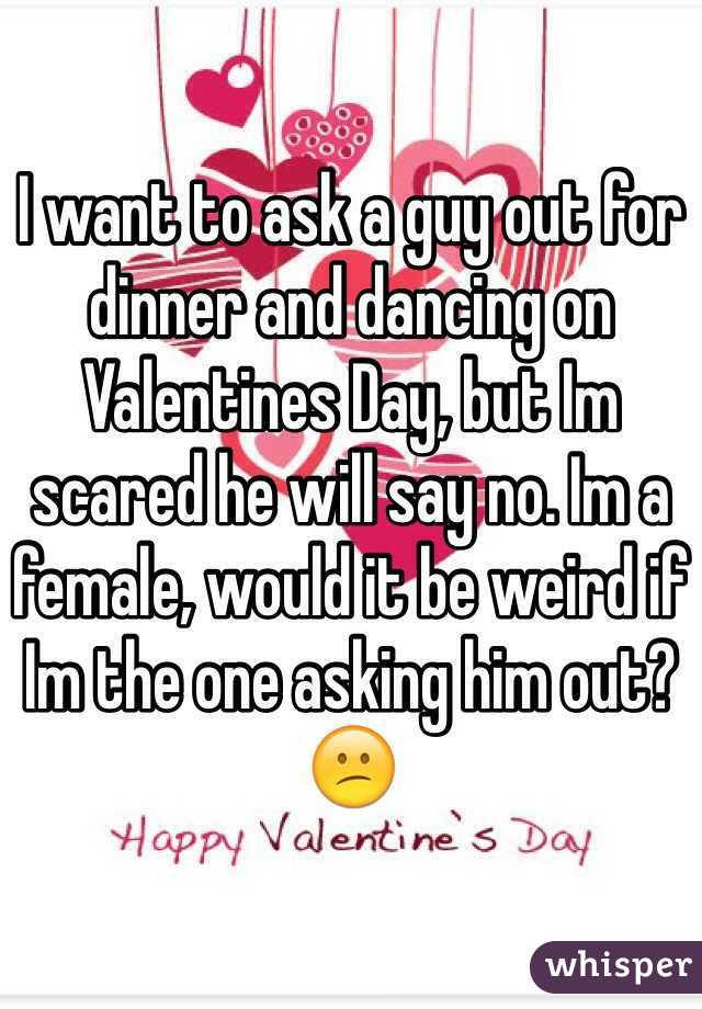 I Want To Ask A Guy Out
