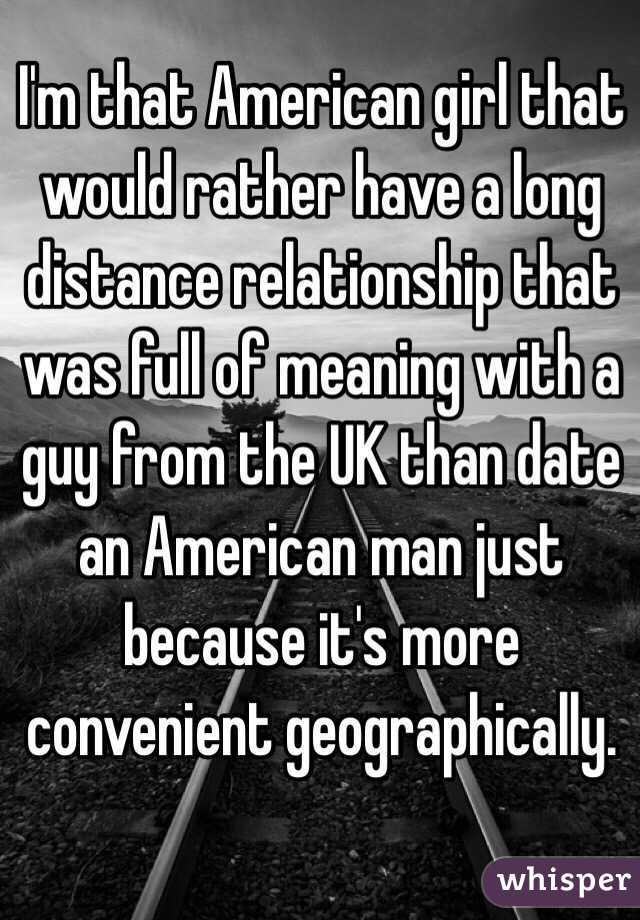 date an american